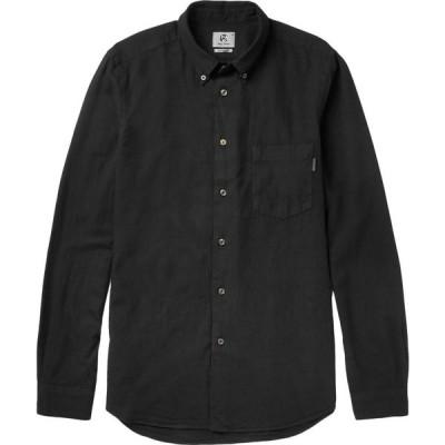 ポールスミス PS PAUL SMITH メンズ シャツ トップス solid color shirt Black