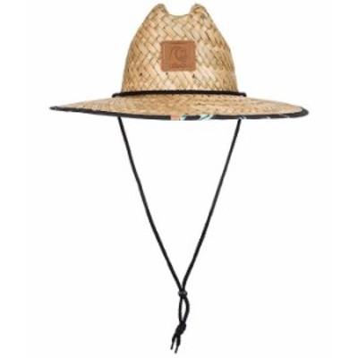 クイックシルバー メンズ 帽子 アクセサリー Outsider Printed Straw Hat Taramac