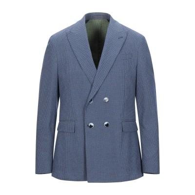 ローダ RODA テーラードジャケット ブルー 50 コットン 100% テーラードジャケット