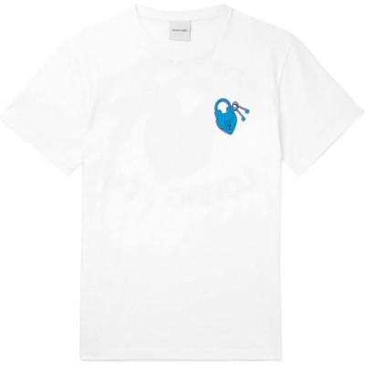 リゾートコープ RESORT CORPS メンズ Tシャツ トップス t-shirt White
