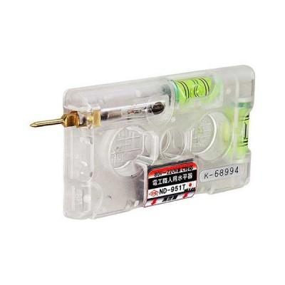 KOD(アカツキ製作所) ND-951T 電工職人用水平器(検電テスター付) 電工用水平器 【003307】