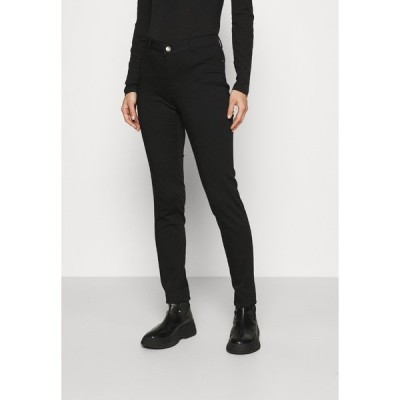 ナフ ナフ カジュアルパンツ レディース ボトムス POWER SKINNY - Trousers - noir