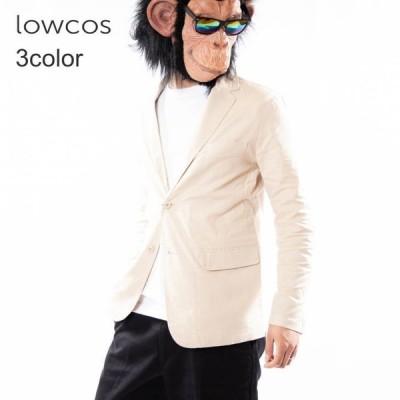 テーラードジャケット メンズ セットアップ対応 綿麻 コットン リネン ストレッチ ストレッチジャケット サマージャケット アウター ビジネス 仕事着