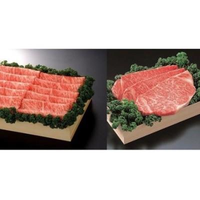 佐賀牛)ロースステーキ200g×3枚とロースしゃぶ・すき焼用500gセット (H040103)