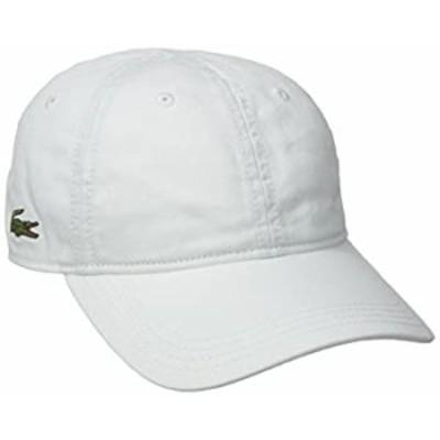 【中古】【輸入品 未使用 】Lacoste メンズ コットンギャバジン 帽