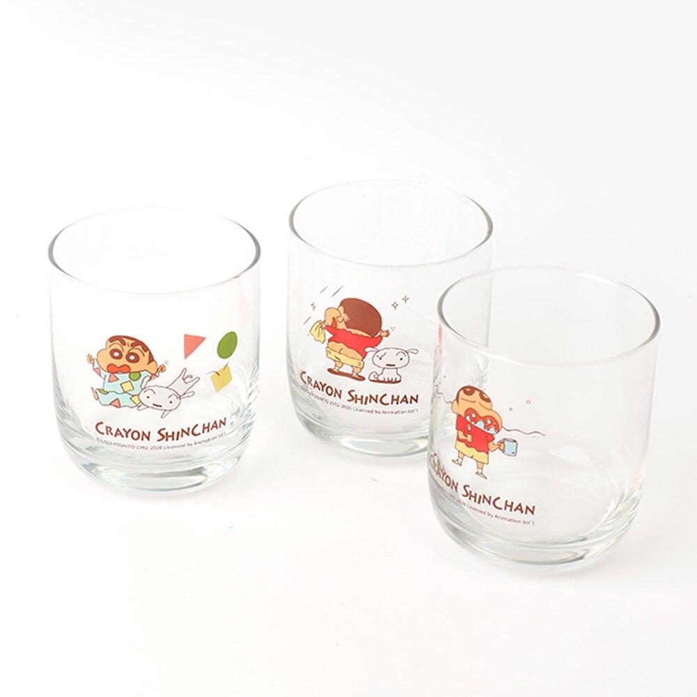 蠟筆小新經典玻璃杯-Norns 正版授權 透明杯 餐具 生活雜貨