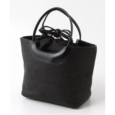 brontibayparis/ブロンティベイパリス 新作かごハンドバッグ「オルキデー」 ブラック*ブラック F