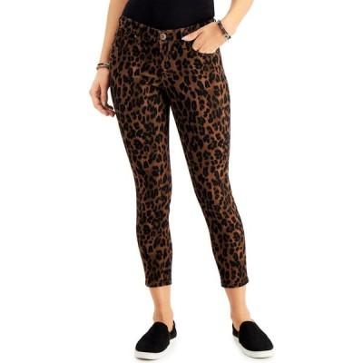 スタイル&コー Style & Co レディース ジーンズ・デニム ボトムス・パンツ Petite Crop Animal Print Skinny Jeans Classic Animal Brown