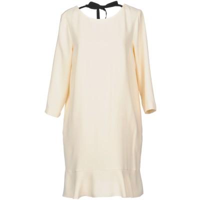 ジャッカ JUCCA ミニワンピース&ドレス ベージュ 44 ポリエステル 100% ミニワンピース&ドレス
