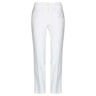 MARIELLA ROSATI パンツ ホワイト 42 ポリエステル 89% / ポリウレタン 11% パンツ