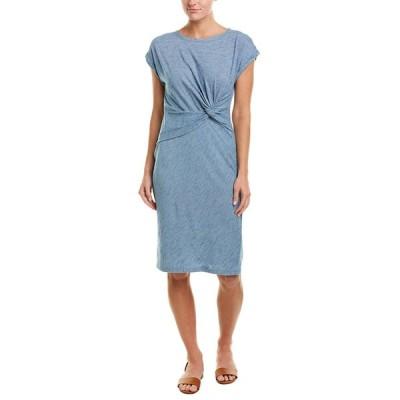 ジョーンズニューヨーク ワンピース トップス レディース Jones New York Maxi Dress chambray wash stripe