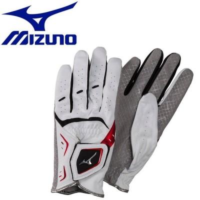【メール便対応】ミズノ パークゴルフ手袋 ゴルフタイプ 羊革 メンズ レディース C3JGP90362