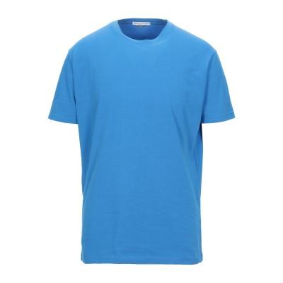 グレイ ダニエレ アレッサンドリーニ GREY DANIELE ALESSANDRINI T シャツ ブライトブルー S コットン 90% / ポリ