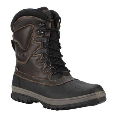 ラグズ ブーツ&レインブーツ シューズ メンズ Anorak Waterproof Boot (Men's) Carob/Otter/Black/reddish‐brown Synthetic Leather