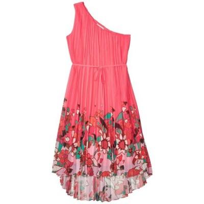 テッドベーカー ユニセックス スカート ドレス Ive Pinata Dip Hem One Shoulder Maxi Dress
