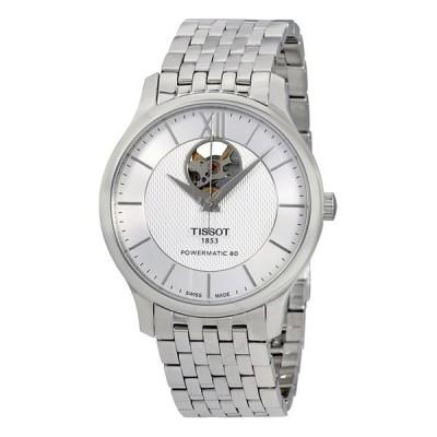 ティソ/TISSOT メンズ 腕時計 Tradition Automatic Silver Dial Men's Watch T063.907.11.038.00