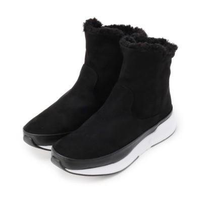 OPAQUE.CLIP / 厚底ムートン調ブーツ WOMEN シューズ > ブーツ