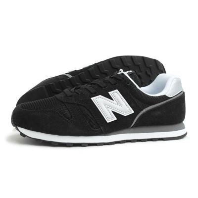 new balance(ニューバランス)ML373 CA2(ブラック/シルバー)スニーカー メンズ レディース Dワイズ 国内正規品 運動靴 シューズ 黒