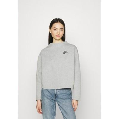 ナイキ パーカー・スウェットシャツ レディース アウター CREW - Sweatshirt - dark grey heather/black