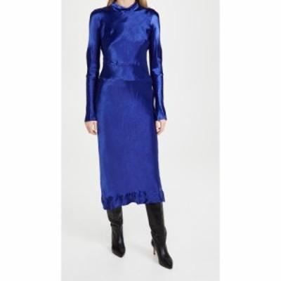マルニ Marni レディース ワンピース ワンピース・ドレス Long Sleeve Dress Bluette