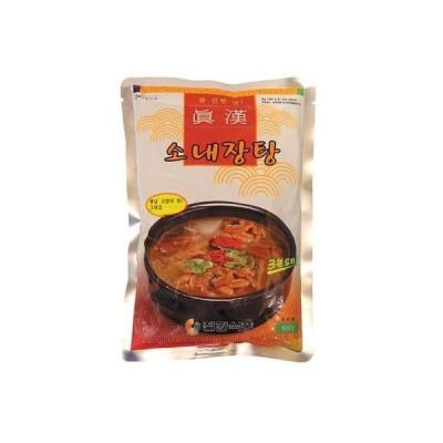 眞漢(ジンハン)牛ネジャンスープ600g 並行輸入品