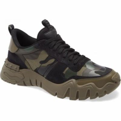 ヴァレンティノ VALENTINO GARAVANI メンズ スニーカー シューズ・靴 Chunky Sneaker Army Green Brushwood
