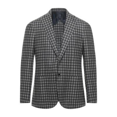 BARBA Napoli テーラードジャケット グレー 52 ウール 87% / シルク 8% / リネン 5% テーラードジャケット