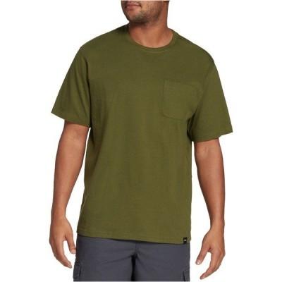 フィールドアンドストリーム Tシャツ トップス メンズ Field & Stream Men's Everyday Pocket T-Shirt CypressGreen