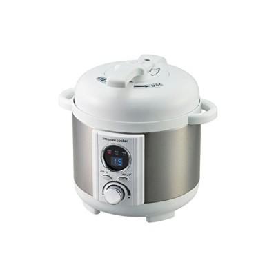 AL COLLE(アルコレ) 電気圧力鍋1.2L ホワイト LPCT12W(中古品)