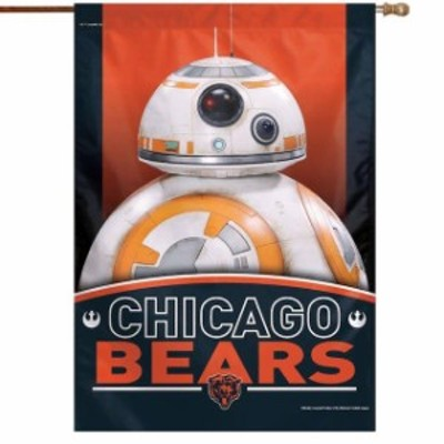 WinCraft ウィンクラフト スポーツ用品  WinCraft Chicago Bears 28 x 40 Star Wars Single-Sided House Banner