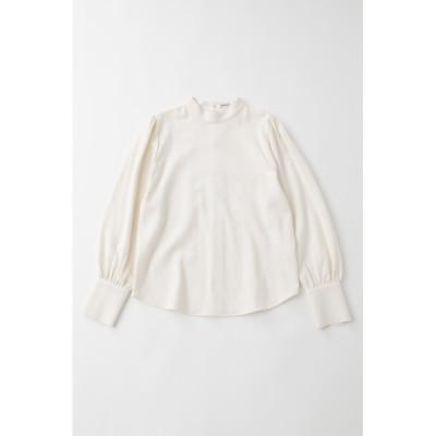 FALL COLOR PUFF SLEEVE トップス
