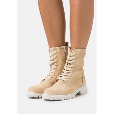 タマリス ブーツ&レインブーツ レディース シューズ Lace-up ankle boots - camel