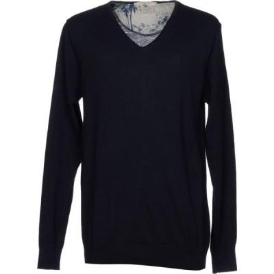 スコッチ&ソーダ SCOTCH & SODA メンズ ニット・セーター トップス sweater Dark blue
