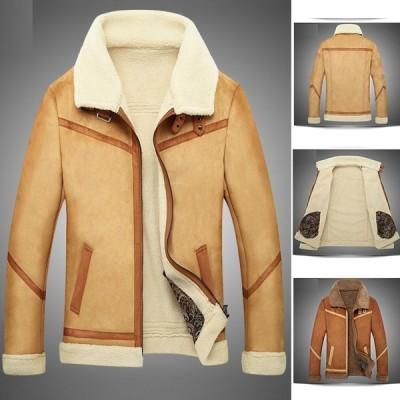 ビジネスコート メンズ 秋冬 メンズジャケット無地 メンズアウター メンズ ジャンパー 大きいサイズ30代40代 50代 60代