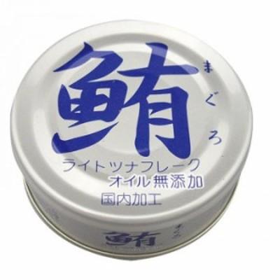 伊藤食品 鮪ライトツナフレーク オイル無添加 70g×12個 4321 食品