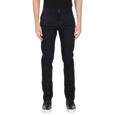 LIU •JO MAN パンツ ダークブルー 58 コットン 98% / ポリウレタン 2% パンツ
