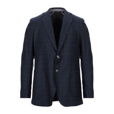 TOMBOLINI テーラードジャケット ダークブルー 52 バージンウール 100% テーラードジャケット