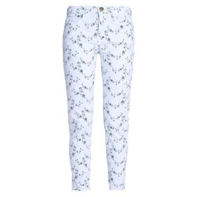 CURRENT/ELLIOTT ジーンズ ファッション  レディースファッション  ボトムス  ジーンズ、デニム ホワイト