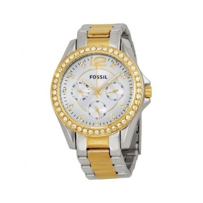Riley Multi-Function Two-Tone Stainless Steel Ladies Watch