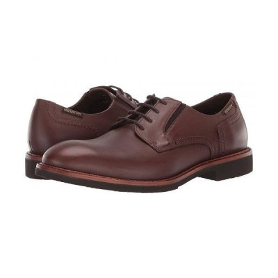 Mephisto メフィスト メンズ 男性用 シューズ 靴 オックスフォード 紳士靴 通勤靴 Noah - Brown Antica