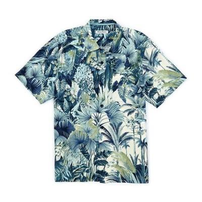 トッミーバハマ メンズ シャツ トップス Cabana Jungle Short-Sleeve Woven Shirt