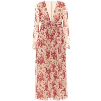 レッド ヴァレンティノ REDValentino レディース ワンピース ワンピース・ドレス Floral crepe dress Avorio
