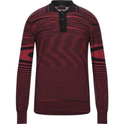 ミッソーニ MISSONI メンズ ニット・セーター トップス Sweater Red