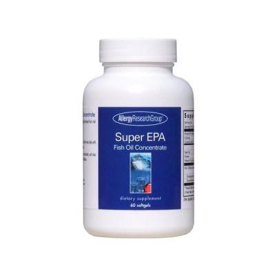 アレルギーリサーチグループ Allergy Research Group EPA + DHA サプリメント 水銀除去済 無添加 サプリ 60粒