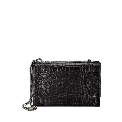 レディース バッグ  Giuseppe Zanotti Croc-Embossed Leather Shoulder Bag