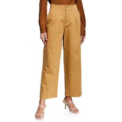 ヴィンス レディース カジュアルパンツ ボトムス High-Waist Twill Utility Pants