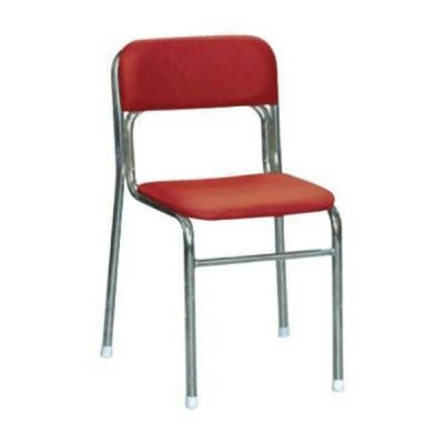 椅子、スツール、座椅子関連 リブラ チェア レッド/クロムメッキ SL-38C