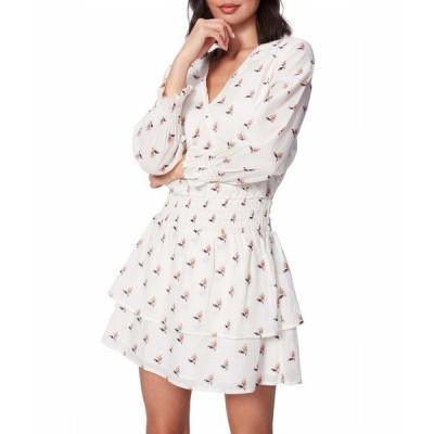 ペイジ ワンピース トップス レディース Serrano Dress Off-White/Turmeric
