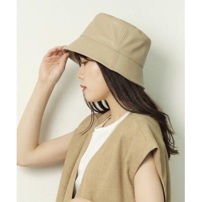 salle de bal / 【 ZOZO限定 】フェイクレザー バケットハット WOMEN 帽子 > ハット