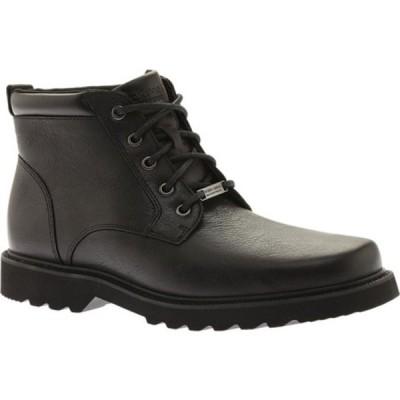 ロックポート スニーカー シューズ メンズ Northfield Plain Toe Boot (Men's) Black Full Grain Leather